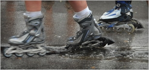 What happens if a skateboard gets wet? - Quora
